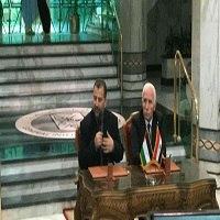 تصویر امضای توافقنامه نهایی آشتی ملی میان دو جنبش فتح و حماس