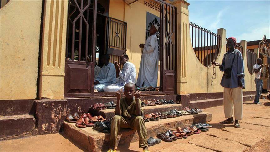 تصویر قتل عام ۲۰ مسلمان در آفریقای مرکزی