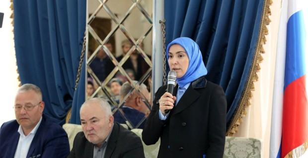 تصویر کاندیدای زن مسلمان در انتخابات روسیه رد صلاحیت شد