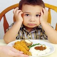 بد غذایی کودک