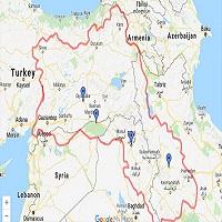 تصویر نامه ای برای تاریخ ، کردستان استخوانی در گلوی صلح و ثبات و توسعه خاورمیانه