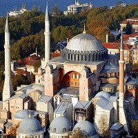 تصویر حوادث نقاب از چهره برمیدارند، رهبر کاتولیک ها از اینکه ایاصوفیه به مسجد تبدیل شد خیلی غمگین شدم