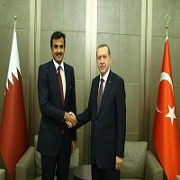 دیدار مخفیانه امیر قطر با اردوغان در استانبول