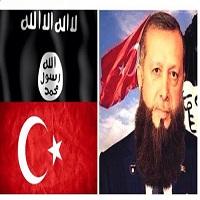تصویر اردوغان حامی داعش، یا مرتد و محکوم به اعدام؟!