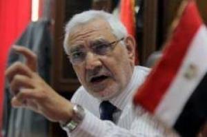 تصویر حزب مصر قوی:در صورت ادامه سرکوبها دولت را سرنگون می کنیم.