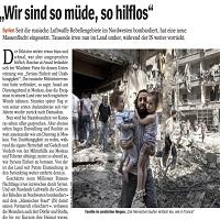 Photo of حلب: خسته و بی دفاع