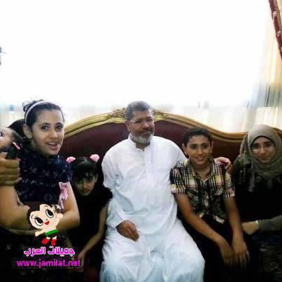 تصویر عدم شرکت خانواده مرسی در روز محاکمه