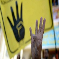 تصویر رابعه نماد جهانی ضد کودتا