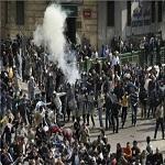 تصویر ۲۰ کشته ودهها زخمی درسالروز انقلاب مصر