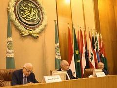 تصویر جبهه گیری خصمانه اتحادیه عرب در قبال اخوان المسلمین.