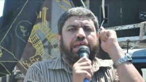 تصویر شهادت صلاح ابو حسنین از رهبران جنبش جهاد اسلامی در غزه