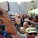 تصویر در تظاهرات مخالفان مصر ۶ نفر کشته شدند
