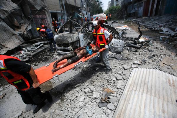 تصویر وحشیانە ترین جنایت درالشجاعیه ی  غزه