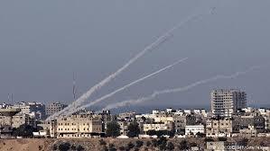 تصویر انهدام راکتھای حماس توسط ارتش مصر
