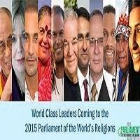 تصویر برپایی بزرگترین گردهمایی ادیان جهان در آمریکا