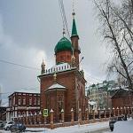 تصویر مسجد سرخ روسیه پس از ۹۰ سال بازگشایی شد