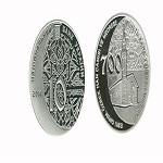 تصویر ضرب سکههایی با نقش مسجد ۷۰۰ ساله در اوکراین
