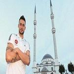 تصویر فوتبالیست آلمانی مسلمان شد
