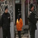 تصویر حمله نیروهای امنیتی بلغارستان به یک مسجد و بازداشت مسلمانان