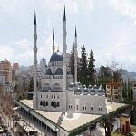 تصویر بزرگترین مسجد منطقه بالکان در آلبانی ساخته میشود