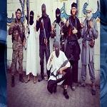 تصویر داعش : پرچم خود را بالای واتیکان نصب میکنیم