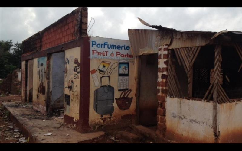 تصویر کشتار مسلمانان آفریقای مرکزی از طریق آلوده نمودن غذاهایشان