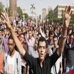 تصویر تظاهرات دانشجویان حامی اخوان المسلمین در دانشگاه های مختلف مصر