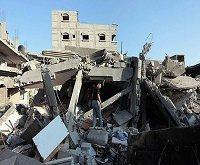 حمله هوایی اسراییل به غزه