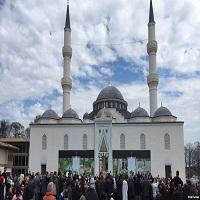 تصویر یکی از بزرگترین مراکز اسلامی آمریکا در مریلند افتتاح شد