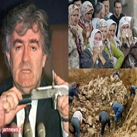 تصویر سالگرد کشتار ۸۳۷۲ مسلمان بوسنیایی بدست داعشی های متمدن!