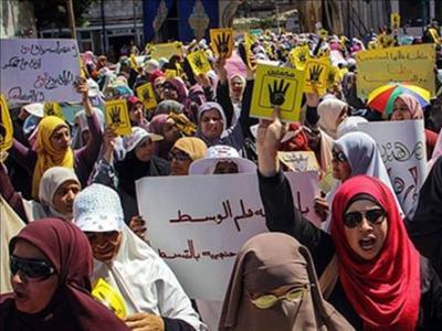 تصویر خشونتهای سازمان یافته پلیس علیه زنان