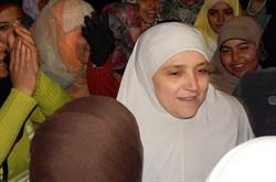 تصویر حضور همسر محمد مرسی وهشام قندیل در تظاهرات ضد کودتا