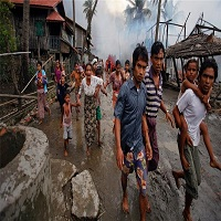 Photo of گزارش تکان دهنده یک گروه حقوق بشری آسیایی از سوزاندن مسلمانان روهینگیا