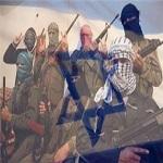 تصویر در نقشه جدید اسراییل، داعش به رسمیت شناخته شده است