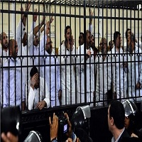 تصویر ۹ نفر از اعضای اخوان المسلمین در قاهره کشته شدند