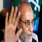 رهبر اخوان المسلمین دوباره به اعدام محکوم شد