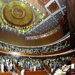 تصویر نشست پارلمان پاکستان درباره جنگ یمن
