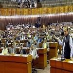تصویر توصیه پارلمان پاکستان به دولت درباره جنگ یمن
