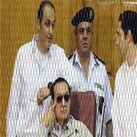 تصویر مبارک به سه سال زندان محکوم شد