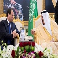 سلمان شاه عربستان - سیسی رئیس جمهوری مصر