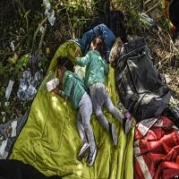 Photo of تصاویر: کودکان آوارۀ سوری کجا می خوابند؟