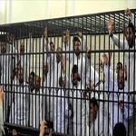 تصویر صدور حکم حبس ابد ۲۵ عضو اخوان المسلمین مصر