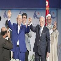 تصویر تفکیک فعالیت های سیاسی و مذهبی جنبش اسلام گرای النهضه تونس