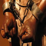 تصویر ۲۷ میلیون برده، در عصر حقوق بشر و دموکراسی ننگی بر پیشانی بشریت