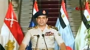 تصویر نقد: عبدالفتاح سیسی، از مردم مصر خواست جمعه تظاهرات بکنند!!!