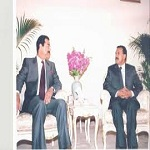 تصویر افشای رابطه ۳۳ساله دیکتاتور یمن با موساد