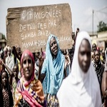 تصویر تشکیل نیروی دفاع از خود توسط مسلمانان آفریقا