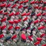 تصویر افزایش تعداد نظامیان مسلمان در ارتش انگلستان