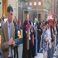 تصویر دو دین یک نیایش : نماز خواندن یهودیان با مسلمانان لس آنجلس