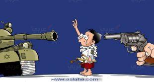 کاریکاتور فلسطین